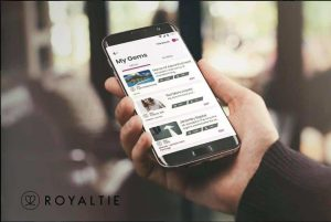 Display ads through The Royaltie Proximity Marketing Ad Network