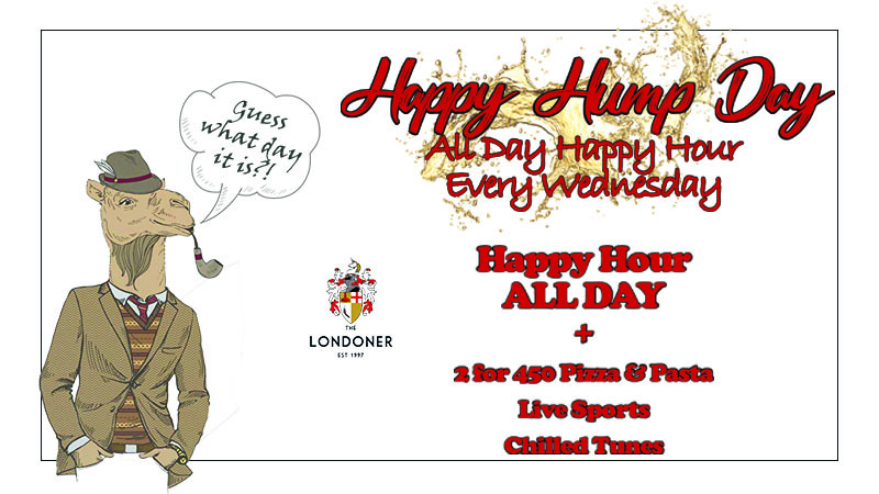 Happy Hour All Day on Wednesdays at The Londoner Brew Pub Bangkok
